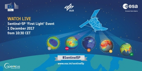 S5P First Light Event Live Streaming